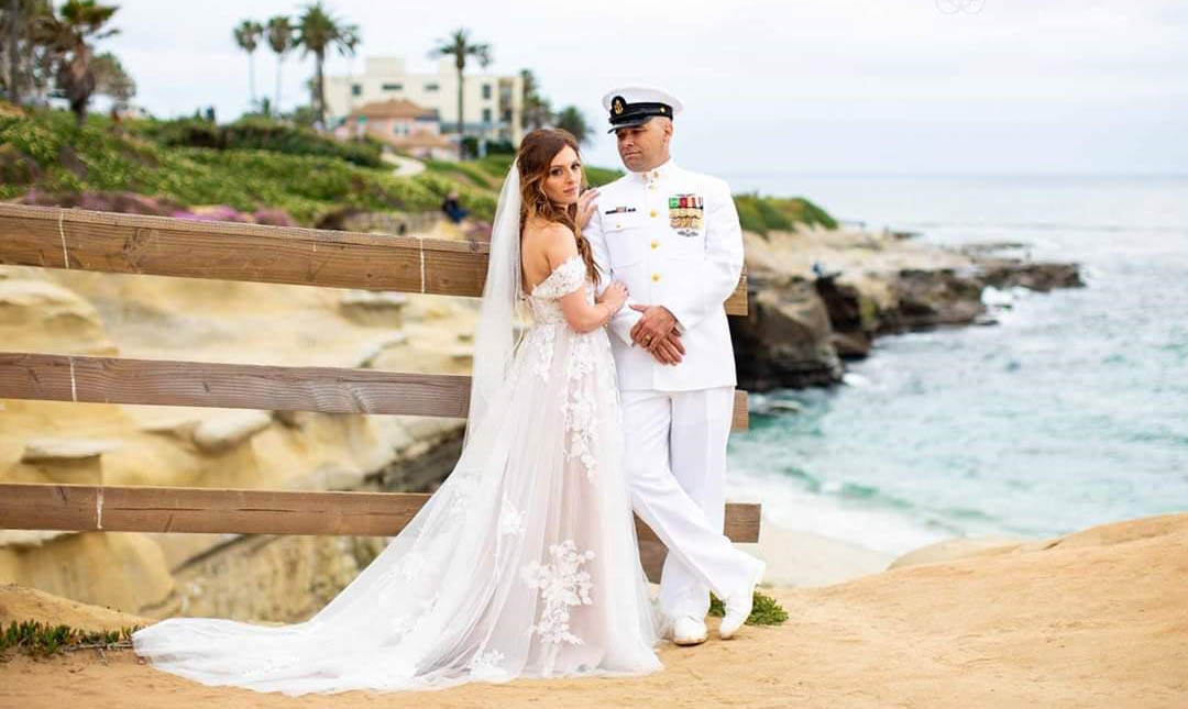 Professional San Diego wedding DJ providing Disc Jockey services for the U.S Navy weddings