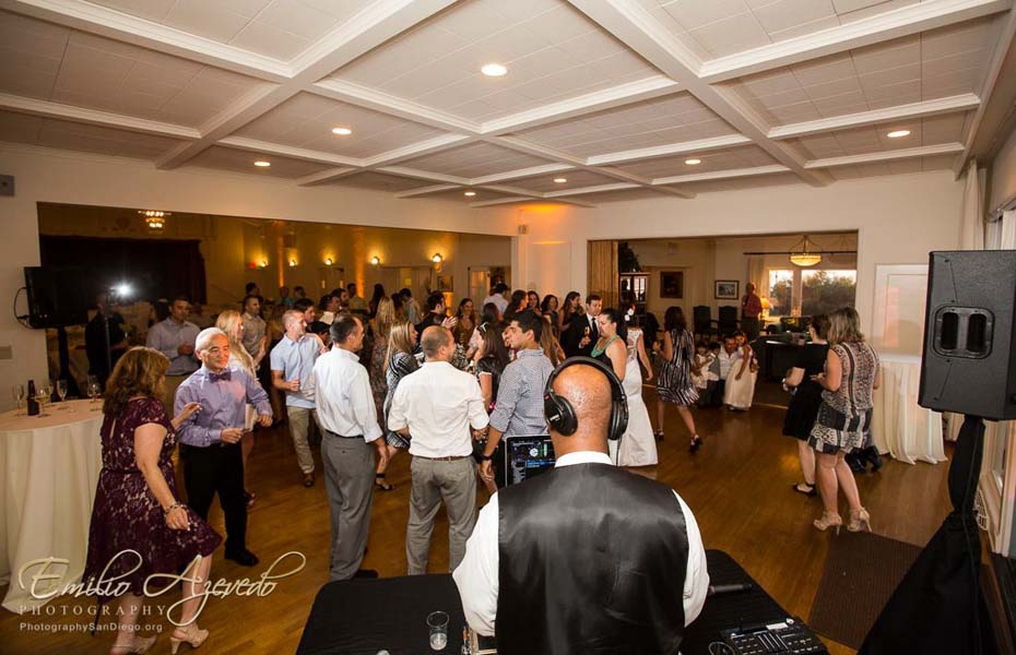 San Diego DJ Jerry Beck at Point loma wedding