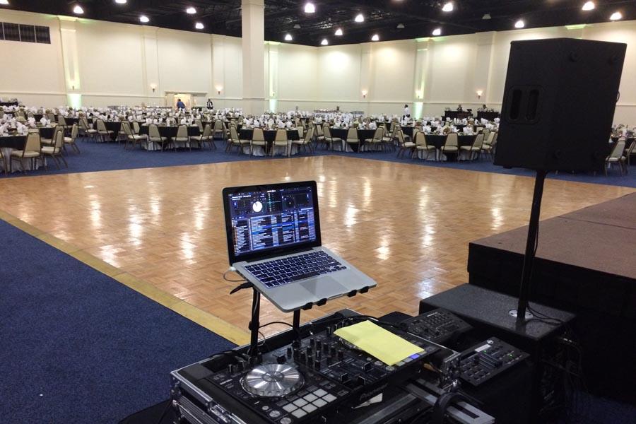 Corporate event convention center web