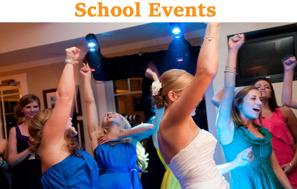 Awesome music for elementary, middle and high school events