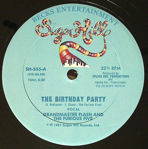 The Birthday Party Grandmaster Flash